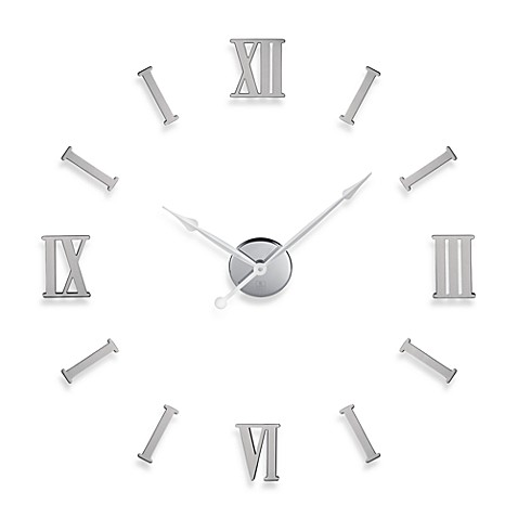 Cupecoy Design Do It Yourself Roman Numerals Metal Wall