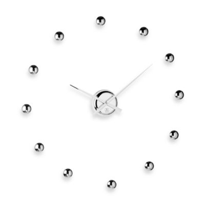 Cupecoy Design Do-It-Yourself Chrome Ball Clock