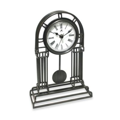 Infinity Instruments Cathedral Metal Pendulum Clock