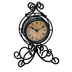 Infinity Instruments Iron Table Clock