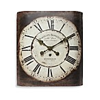 Infinity Instruments Bordeaux Metal Wall Clock