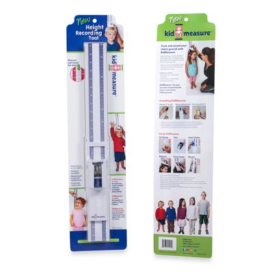 KidMeasure Height Recording Chart