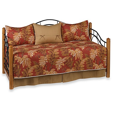 Tommy Bahama 174 Orange Cay 5 Piece Day Bed Bedding Set Bed