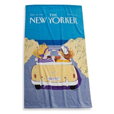 The New Yorker Cruisin' Girlfriends Beach Towel