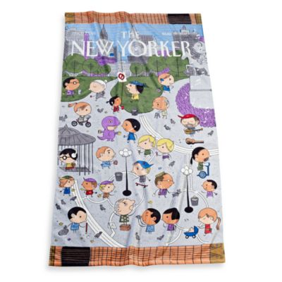 Union Square Beach Towel