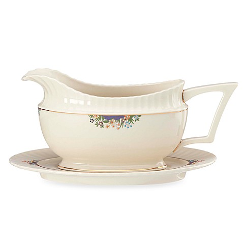 Lenox® Rutledge Legacy™ 16-Ounce Sauce Boat and Stand