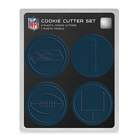 Nfl Seattle Seahawks Cookie Cutter Set Bed Bath Amp Beyond