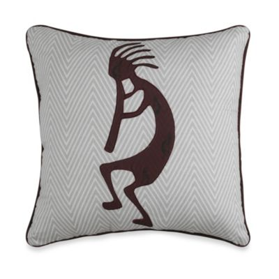 Kokopelli Square Toss Pillow