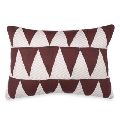 Kokopelli Oblong Toss Pillow in Nutmeg