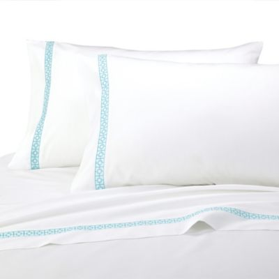 Trina Turk® Sheet Set in Blue Peacock