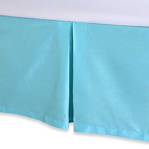 Trina Turk® Blue Peacock Bed Skirt - California King