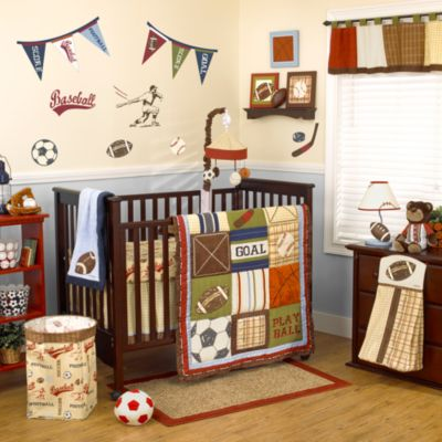 CoCaLo® Play Ball 4-Piece Crib Bedding Set