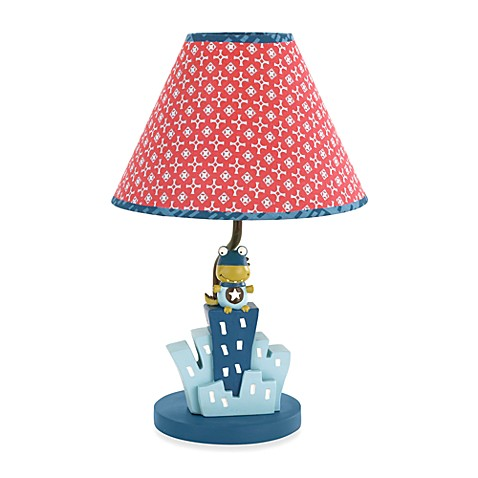 CoCaLo® Super Hero Pals Lamp & Shade