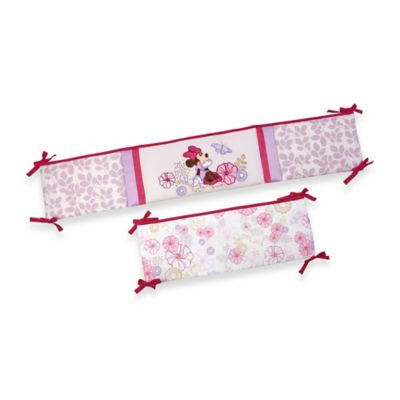 kidsline Butterfly Dreams Crib Bumper