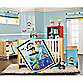 Carter's® Laguna Monkey 4-Piece Crib Bedding Set