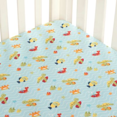 Carter's® Laguna Monkey Fitted Sheet