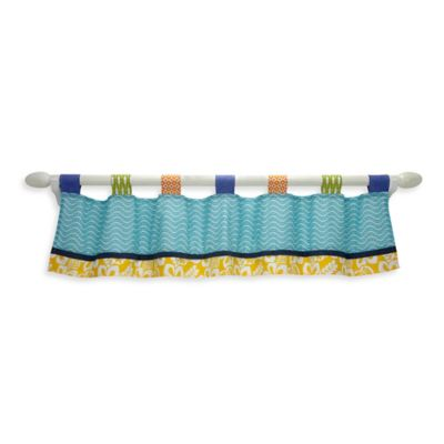 Carter's® Laguna Monkey Window Valance