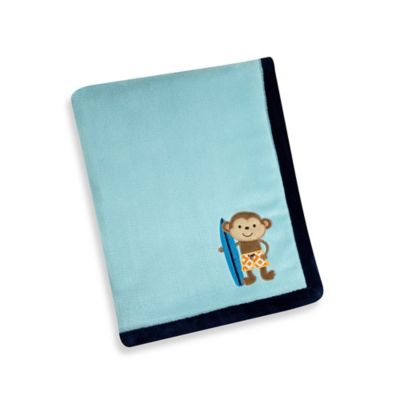 Carter's® Laguna Monkey Blanket