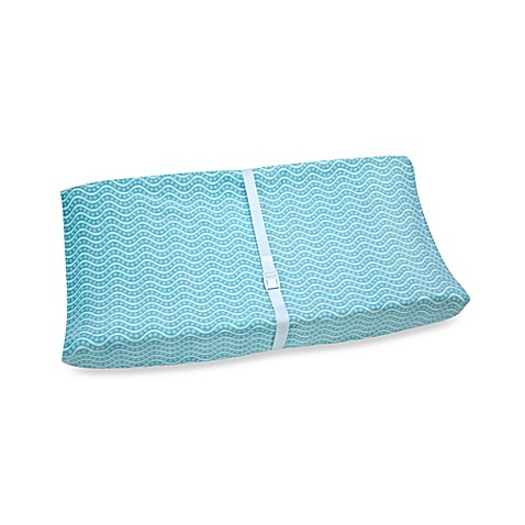 Carter's® Laguna Monkey Contoured Changing Pad Cover