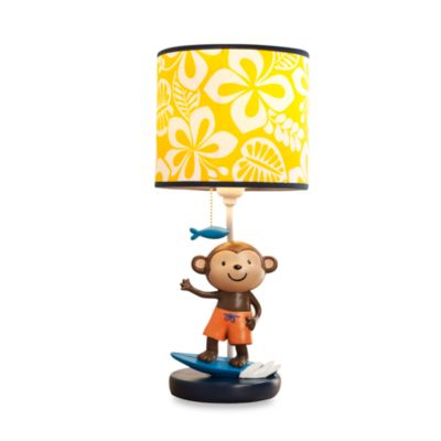 Carter's® Laguna Monkey Lamp Base and Shade