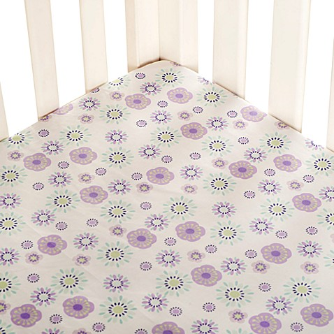 Carter's® Zoo Garden Fitted Crib Sheet