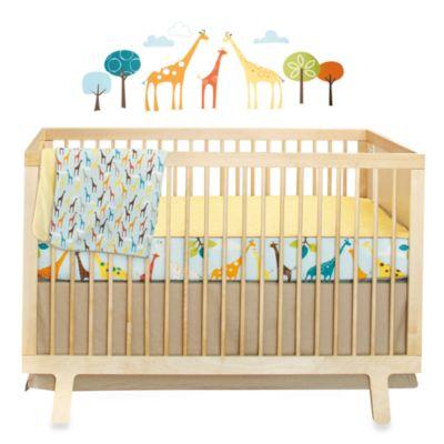 SKIP*HOP® Giraffe Safari Crib Bedding Collection > SKIP*HOP® Giraffe Safari 4-Piece Crib Bedding Set
