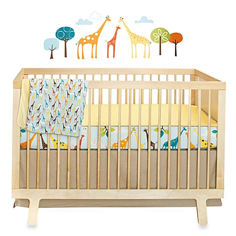 SKIP*HOP® Giraffe Safari 4-Piece Crib Bedding Set