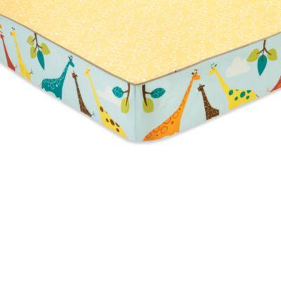 SKIP*HOP® Giraffe Safari Crib Bedding Collection > SKIP*HOP® Giraffe Safari Complete Sheet™ Crib Sheet