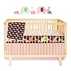 SKIP*HOP® Pink Elephant Complete Sheet™ 4-Piece Crib Bedding Collection