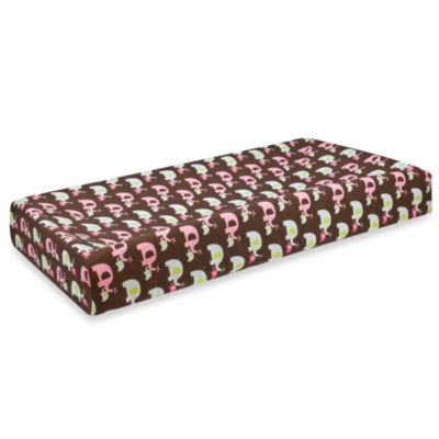 SKIP*HOP® Pink Elephant Complete Sheet™ Changing Pad Cover