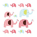SKIP*HOP® Pink Elephant Complete Sheet™ Wall Decals