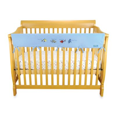 Dr. Seuss™ by Trend Lab® One Fish Two Fish CribWrap™ Wide Rail Cover