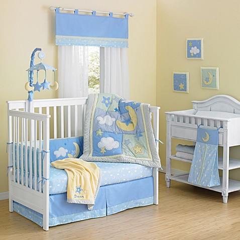 New Country Home Laugh, Giggle & Smile Wish I May 10-Piece Crib Bedding Set