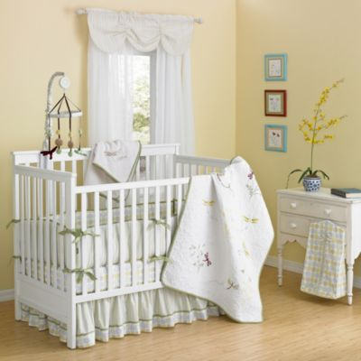 New Country Home Zen Garden 10-Piece Crib Bedding Set