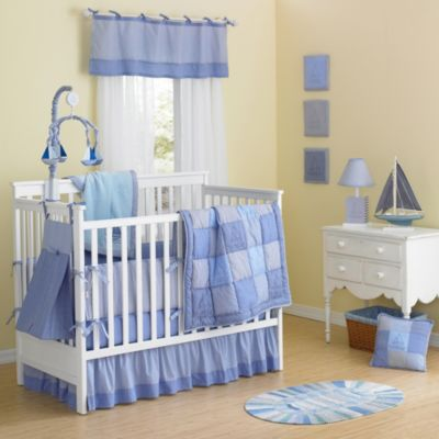New Country Home Sail in g Days 10-Piece Crib Bedding Set