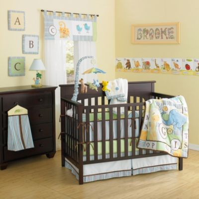 Animals Crib Bedding Set