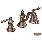 Moen Waterhill 9-Inch 2-Handled High-Arc Bathroom Faucet - Oil Rubbed Bronze