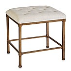 Hillsdale Katherine Tufted Backless Vanity Stool