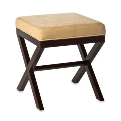 "Hillsdale Morgan ""X"" Backless Vanity Stool"