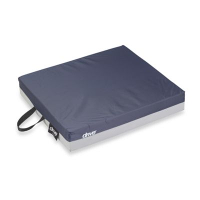 Drive Medical 16-Inch x 16-Inch Gel Seat Cushion in Dark Blue