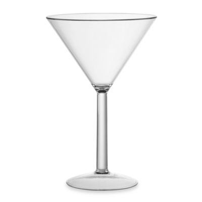 Tritan Shatterproof 9.5-Ounce Martini Glass
