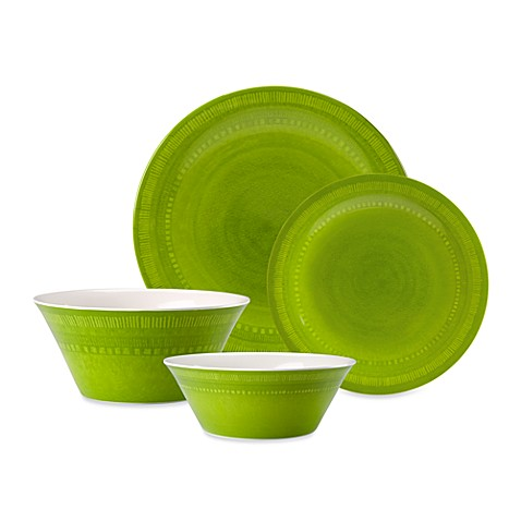 Reactive Green Dinnerware Collection
