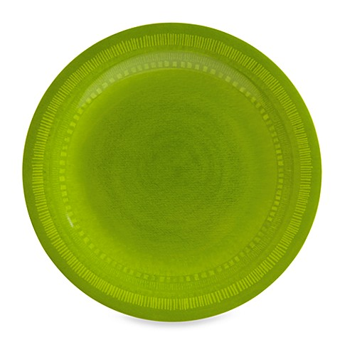 Reactive 10.5-Inch Dinner Plate in Green