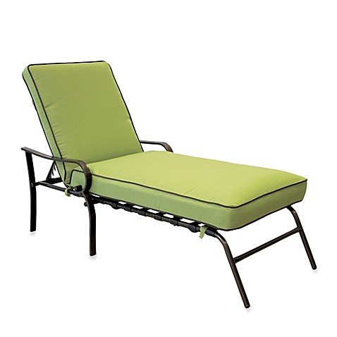 Hawthorne padded chaise lounge bed bath beyond for Bathroom chaise lounge