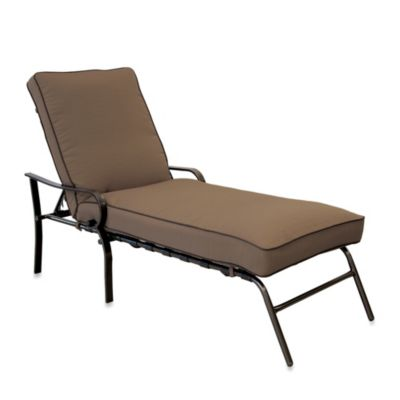 Hawthorne Padded Chaise Lounge in Lime