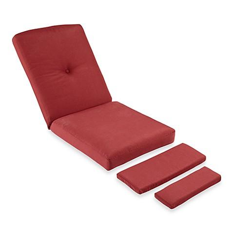 Mix Amp Match Stratford Wicker Recliner Cushion