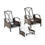 Wicker Deep Seating Outdoor Recliner Frame