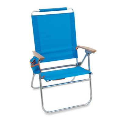 Outdoor Folding Chair with Back