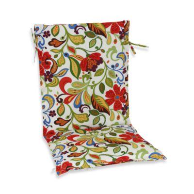 Sling Cushion with Ties in Wildwood