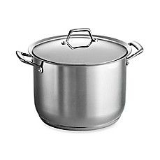Tramontina® Gourmet Prima Stainless Steel Covered Stockpots